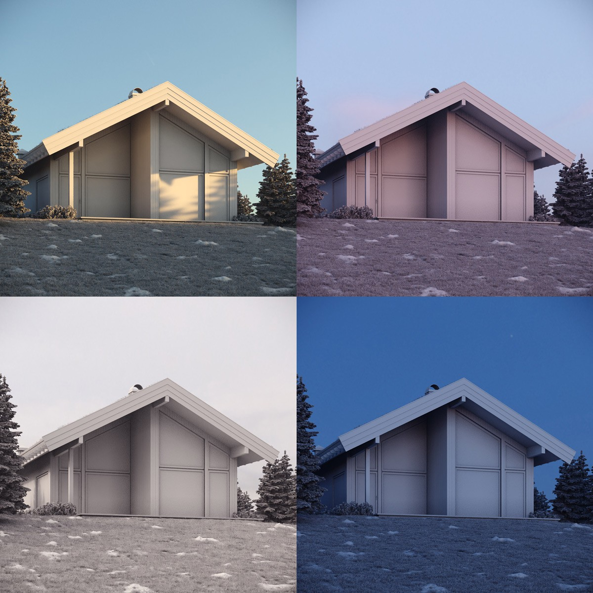 Quick HDRI Loader Tests on Architectural Visualisation